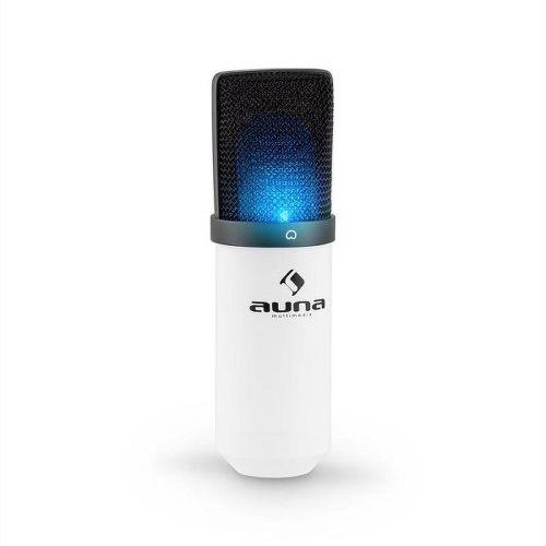 AUNA MIC-900-WH LED, Mikrofón_01