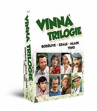 HOLLYWOOD VINNÁ TRILOGIE, DVD film_1