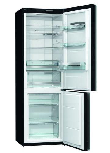 GORENJE NRK612ORAB, čierna kombinovaná chladnička