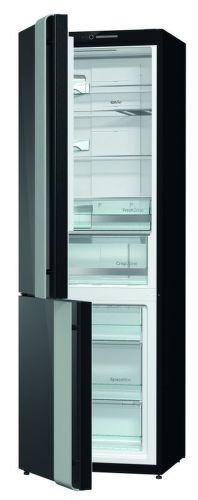 GORENJE NRK612ORAB-L, čierna kombinovaná chladnička