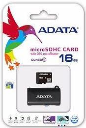 A-DATA microSDHC 16 GB 14 MBS CLASS 4