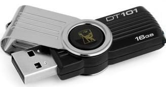 KINGSTON 16GB USB DT101 Gen2 BLACK