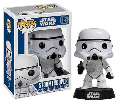 Vinylová figúrka - Stormtrooper - Star Wars - kývajúca hlava
