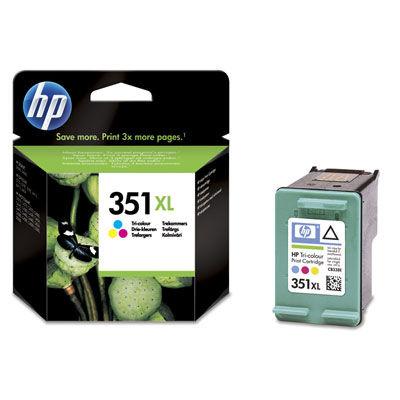 HP CB338EE Color XL náplň No.351 BLISTER