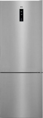 AEG RCB65121TX, nerezová kombinovaná chladnička