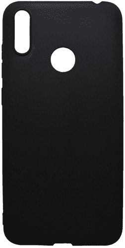Mobilnet gumené puzdro pre Huawei Y7 2019, čierna