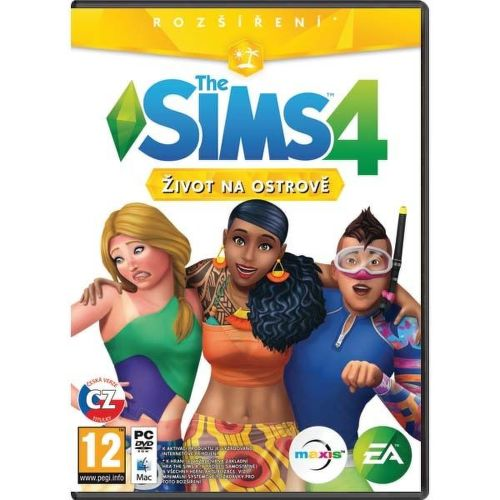 The Sims 4 - Život na ostrove PC hra