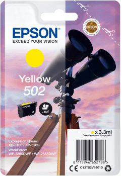 EPSON singlepack 502 YELLLOW