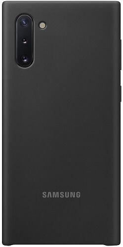 Samsung Silicone Cover pre Samsung Galaxy Note10, čierna