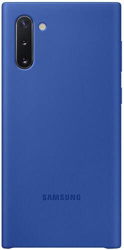 Samsung Silicone Cover pre Samsung Galaxy Note10, modrá