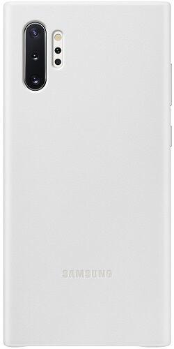 Samsung Leather Cover pre Samsung Galaxy Note10+, biela
