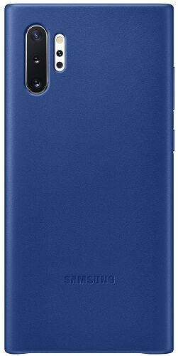 Samsung Leather Cover pre Samsung Galaxy Note10+, modrá