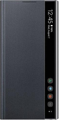 Samsung Clear View puzdro pre Samsung Galaxy Note10, čierna