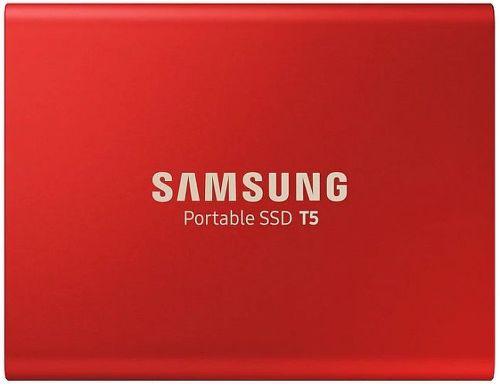 Samsung SSD T5 500GB červený