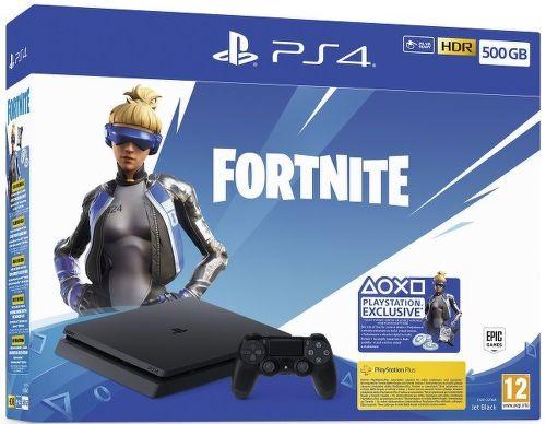 Sony PlayStation 4 Slim 500GB + Fortnite balík v hodnote 2000 V Bucks