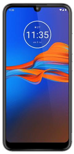 Motorola Moto E6 Plus 64 GB sivý