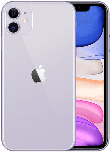 Apple iPhone 11 64 GB fialový