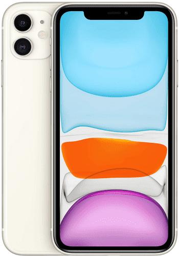 Apple iPhone 11 128 GB biely
