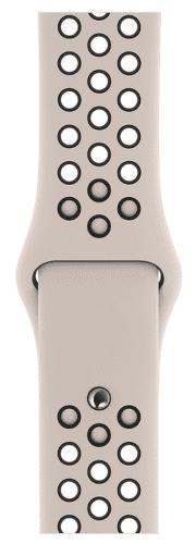 Apple Watch 40 mm Nike športový remienok S/M a M/L, pieskovo béžový/čierny