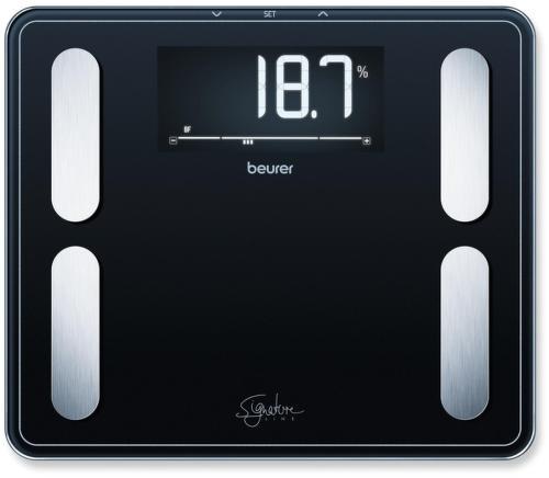 BEURER BF410 BLK, čierna osobná váha