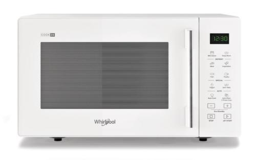 WHIRLPOOL MWP 251 W, biela mikrovlnná rúra