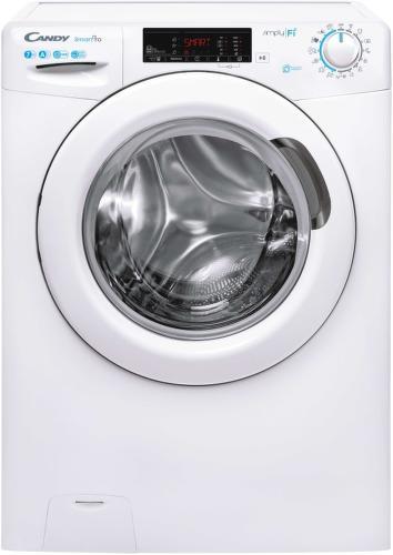 CANDY CSO 1275T3/1-S, bílá smart pračka plněná zepředu
