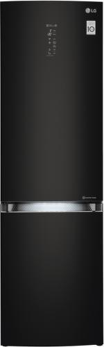 LG GBB940BMQZT, čierna kombinovaná chladnička
