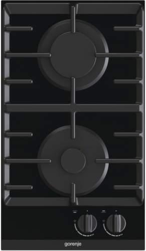GORENJE GC321B, čierna domino plynová varná doska