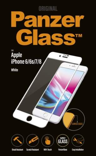 Panzerglass Premium tvrdené sklo pre Apple iPhone 6/6S/7/8, biela