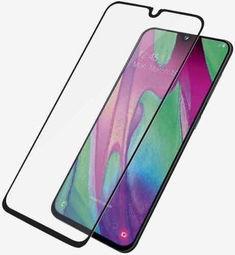 PanzerGlass Case Friendly tvrdené sklo pre Samsung Galaxy A40, čierna