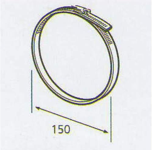 ELICA 3023 P/R, kruhova spona