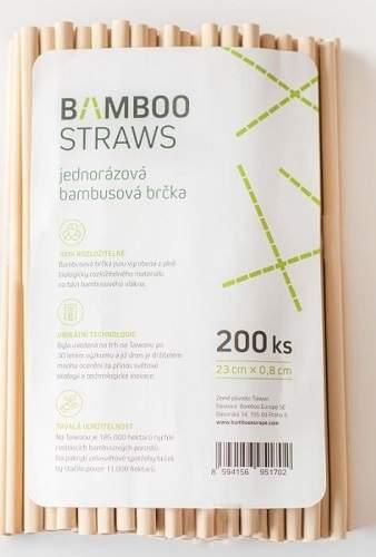 Bamboo Straws BS0823 (200ks)