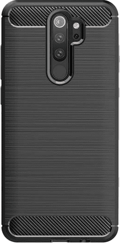 Winner Carbon puzdro pre Xiaomi Redmi 9, čierna