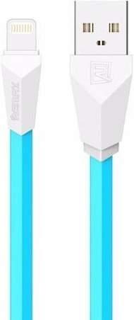 Remax Alien kábel USB/Lightning 1m, bielo-modrá