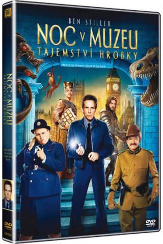 Noc v muzeu 3: Tajomstvo hrobky - DVD film