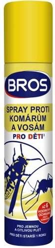 Bros proti komárom a osám pre deti 90 ml (žltý)