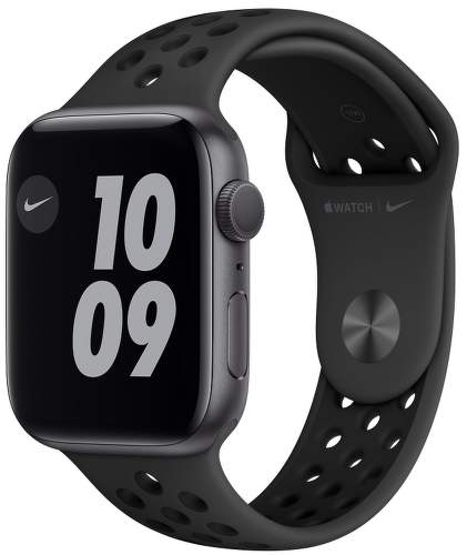 Apple_Watch_Nike_Series_6_GPS_44mm_Space_Gray_Aluminum_Anthracite_Sport_Band_34R_Screen__USEN-1