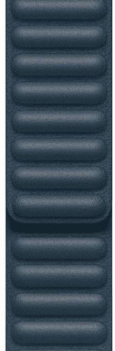 Apple Watch 44 mm kožený remienok baltsky modrý S/M