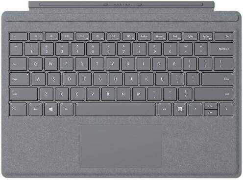 Microsoft Surface Pro Signature Type Cover EN (FFP-00153) sivý