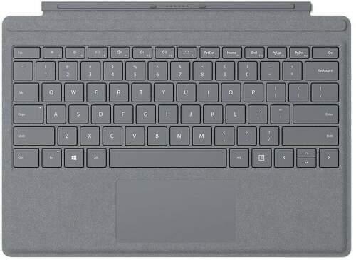 Microsoft Surface Pro Signature Type Cover CZ/SK ( FFP-00153) sivý