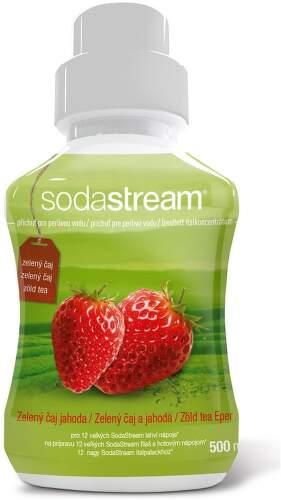 Sodastream zelený čaj a jahoda sirup 500ml.1