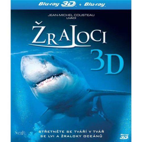 BD F - 3D Žraloci
