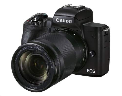 Canon EOS M50 Mark II + EF-M 18-150 mm čierna