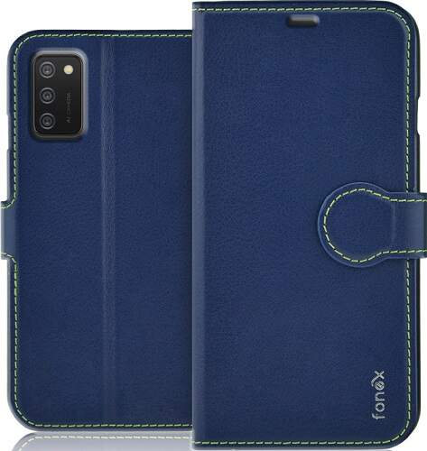 Fonex knižkové puzdro pre Samsung Galaxy A02s modrá