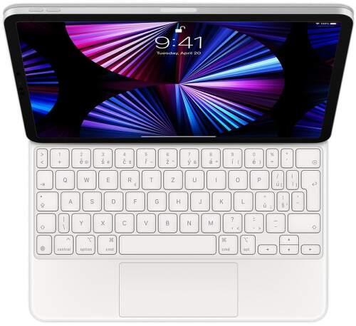 """Apple Magic Keyboard CZ pre iPad Pro 11"""" 2021 MJQJ3CZ/A biela"""