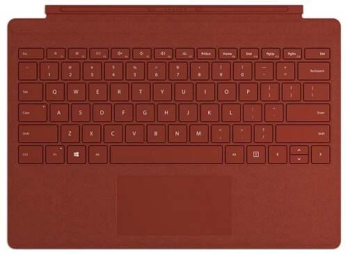 Microsoft Surface Pro Signature Type Cover CZ/SK červený