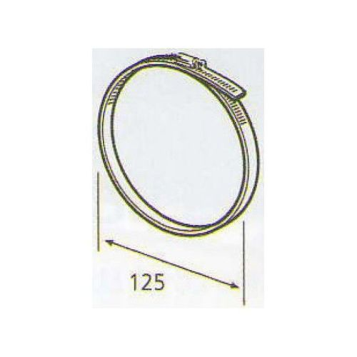 ELICA 1052 T/R, plastove rozvody 125mm