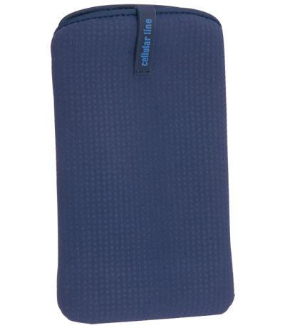 CellularLine púzdro SLEEVE nabuko L, modré