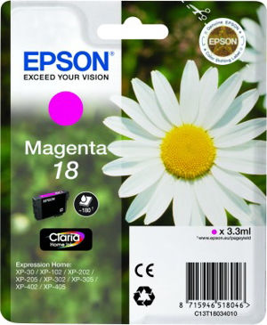 EPSON T18034020 MAGENTA cartridge Blister