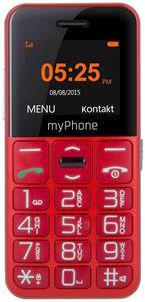 MyPhone EASY (červená) - mobilný telefón